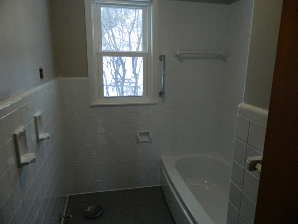 Before After Call Today For A Free Estimate - Bathroom tile reglazing