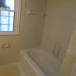 Pink Bathroom After Reglazing Bathtub, Walls and Surround