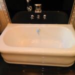 White Bathtub After Reglazing