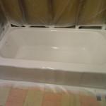 Pink Bathtub After Reglazing