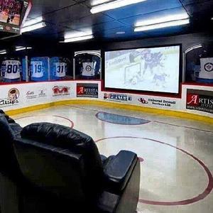 hockey man cave